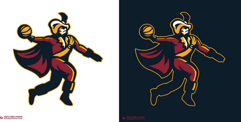 Cleveland Cavaliers Logo Shirt Concept